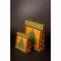 Vianočná papierová taška Abete
