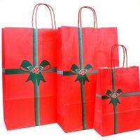 Vianočná papierová taška Natale